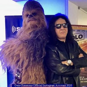 Gene Simmons (Instagram Official Acount A 008)