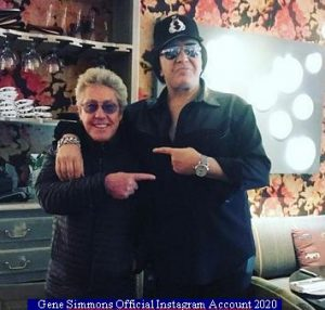 Gene Simmons (Instagram Official Acount A 011)