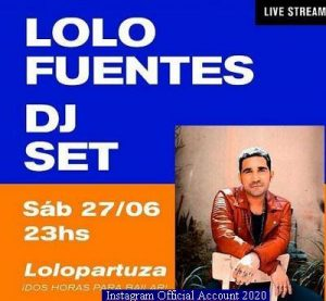 00 Lolo Fuentes (Instagram Official Acount - A011)